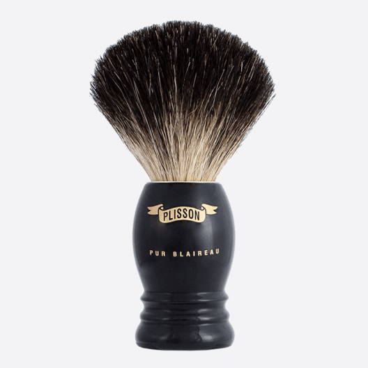 Blaireau Monture Haute Pur Noir - 3 coloris