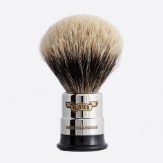 Brocha de afeitar de Cobre niquelado