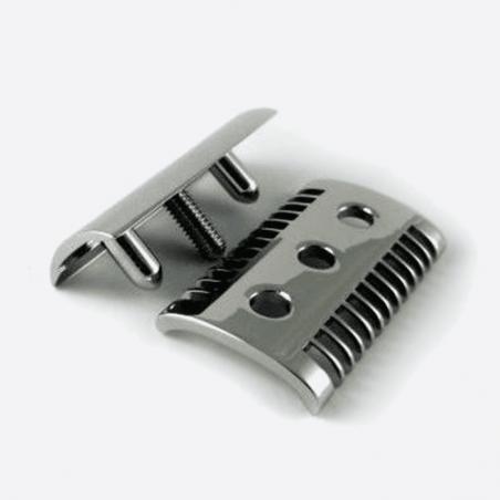 Maquinilla de afeitar de seguridad Moiré - Acabado Palladium thumb-0