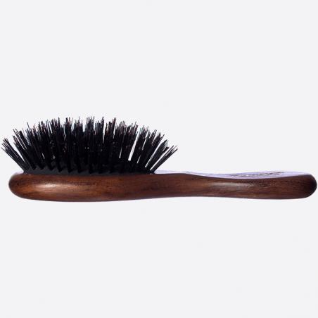 Brosse à cheveux pneumatique de sac - 100% Sanglier thumb-1