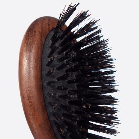 Brosse à cheveux pneumatique de sac - 100% Sanglier thumb-3