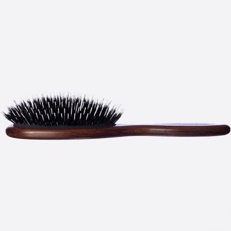 Brosse à cheveux pneumatique grand modèle - Sanglier et Picots Nylon thumb-1