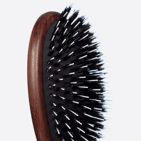 Nylon and Boar Bristle - Large hairbrush thumb-2