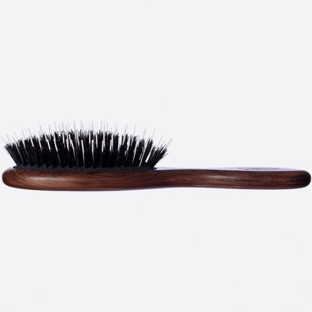Brosse à cheveux pneumatique petit modèle - Sanglier et Picots Nylon thumb-2