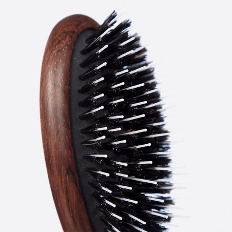Brosse à cheveux pneumatique petit modèle - Sanglier et Picots Nylon thumb-3