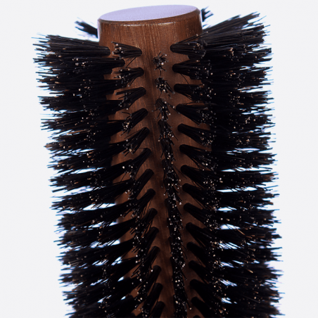 Round brush 18 rows - Pure boar bristles thumb-1