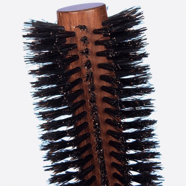 Round brush 14 rows - Pure boar bristles