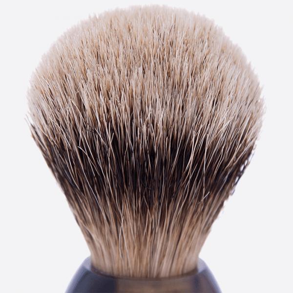 Horn & High Mountain White Shaving brush
