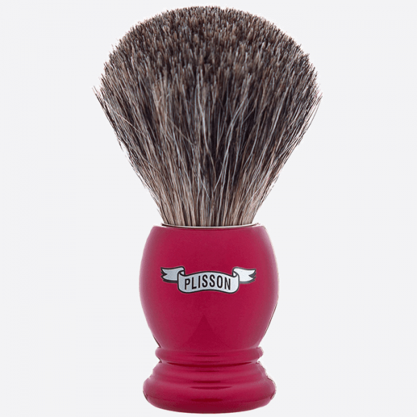 Brocha de afeitar esencial de gris...