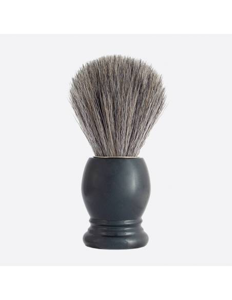 "Essential Shaving Brush - 8 colours ""Pure Grey"" Fibre thumb-1"