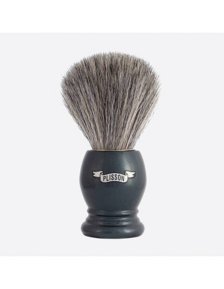 "Essential Shaving Brush - 8 colours ""Pure Grey"" Fibre thumb-0"