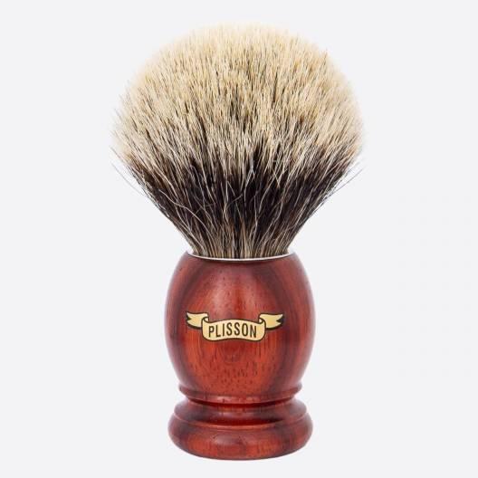 Brocha de afeitar Original madera de padouk Gris Europeo