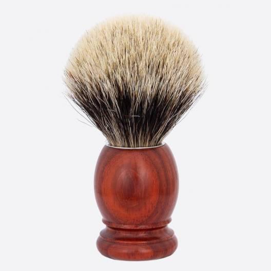 Original Rasierpinsel Padouk - Europäisch Grau