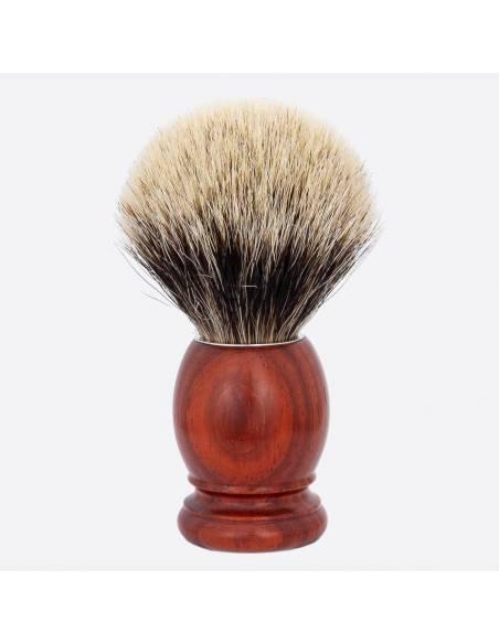 Original Padouk & European Grey Shaving Brush thumb-1