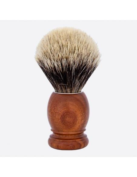 Original Santos Rosewood & European Grey Shaving Brush thumb-1