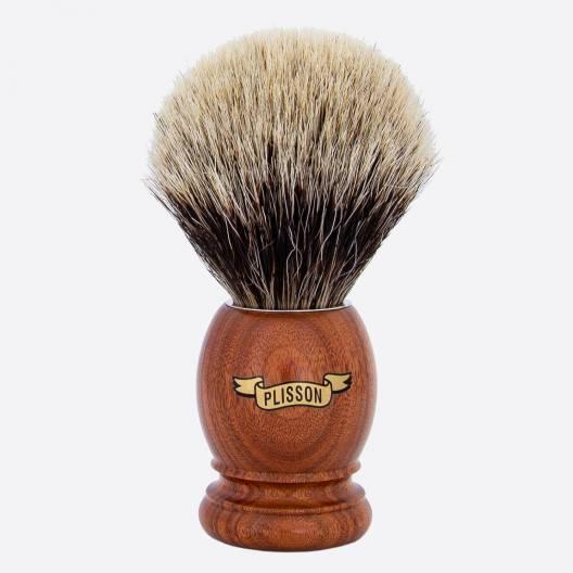 Original Rasierpinsel Santos Rosewood - Europäisch Grau