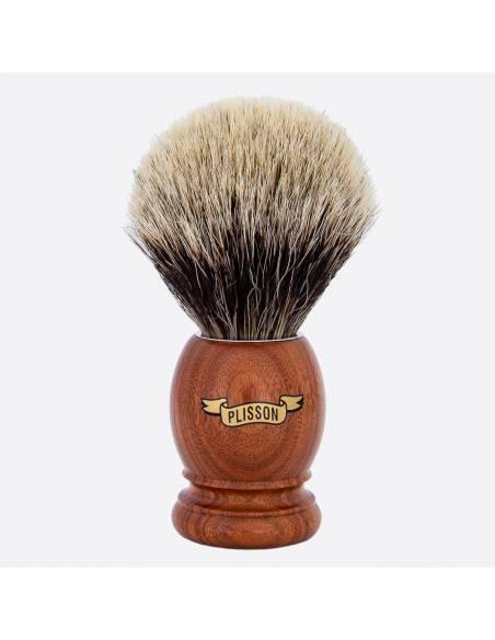 Original Santos Rosewood & European Grey Shaving Brush thumb-0