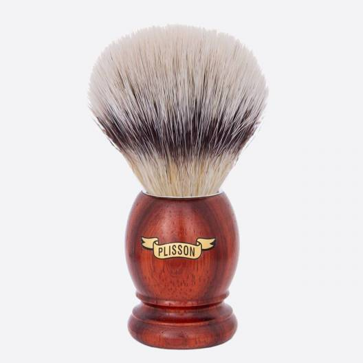 "Original Padouk shaving brush ""High Mountain White"" fibre"