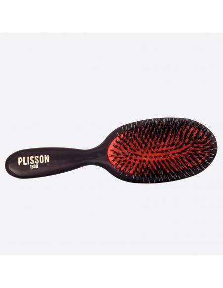 Pneumatic hairbrush Medium - Wild boar and Nylon pins thumb-0