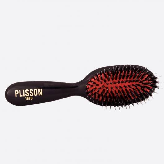 Pneumatic hairbrush junior - Wild boar and Nylon pins