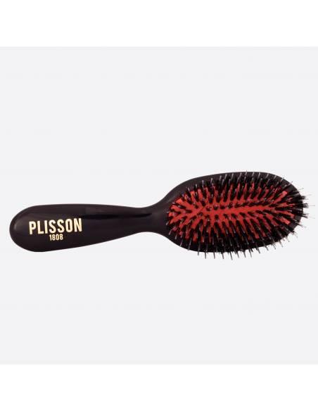 Pneumatic hairbrush junior - Wild boar and Nylon pins thumb-0