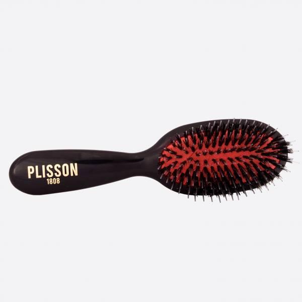 Pneumatic hairbrush junior - Wild boar and Nylon pins