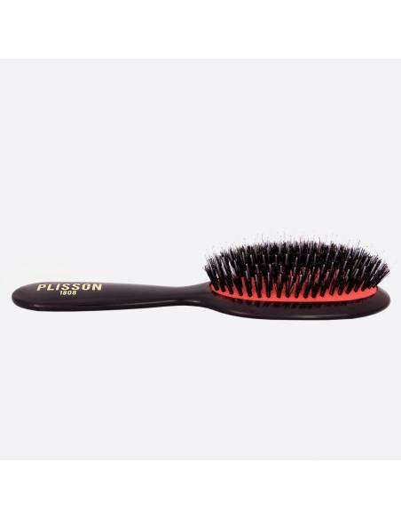 Pneumatic hairbrush junior - Wild boar and Nylon pins thumb-1