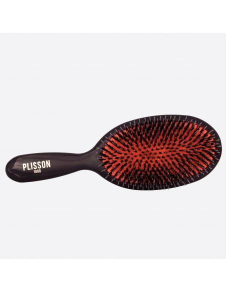 Pneumatic hairbrush Large - Wild boar and Nylon pins thumb-0