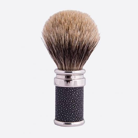 Conjunto de prestigio lacado y shagreen - gris perlado