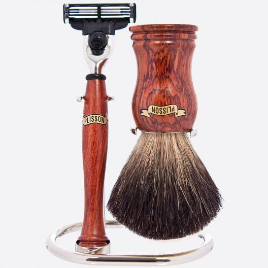 Bubinga Wooden Shaving Set
