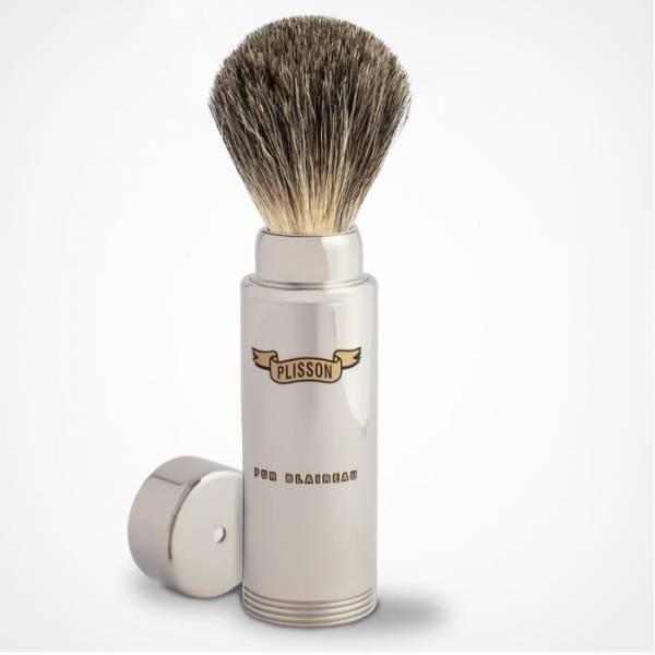 Brocha de afeitar de viaje