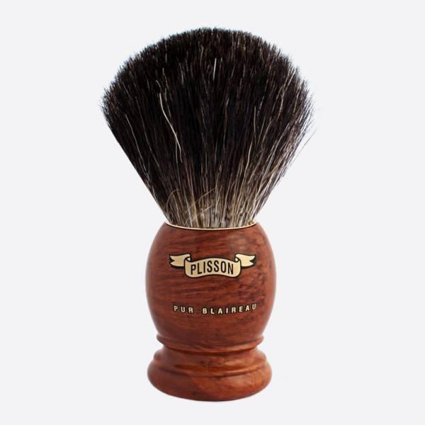 Brocha de afeitar original de madera...
