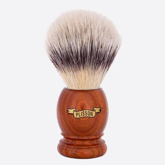 "Original Santos Rosewood Shaving Brush - ""High Mountain White"" fibre"