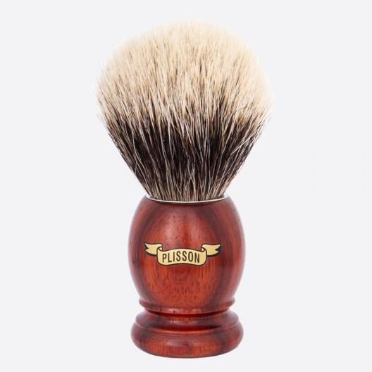Original Padouk Shaving Brush - European White
