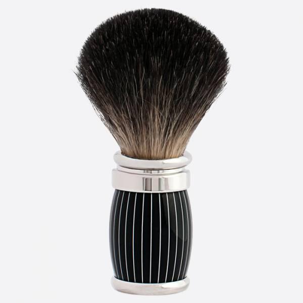 Joris Pure Black Shaving Brush Retro...