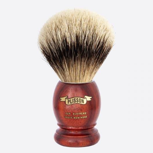 Original Padouk Shaving Brush - High Mountain White