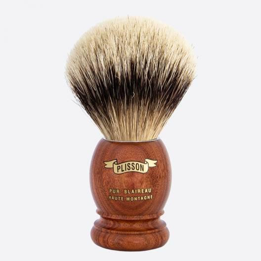 Original Shaving Brush Santos Rosewood - High Mountain White