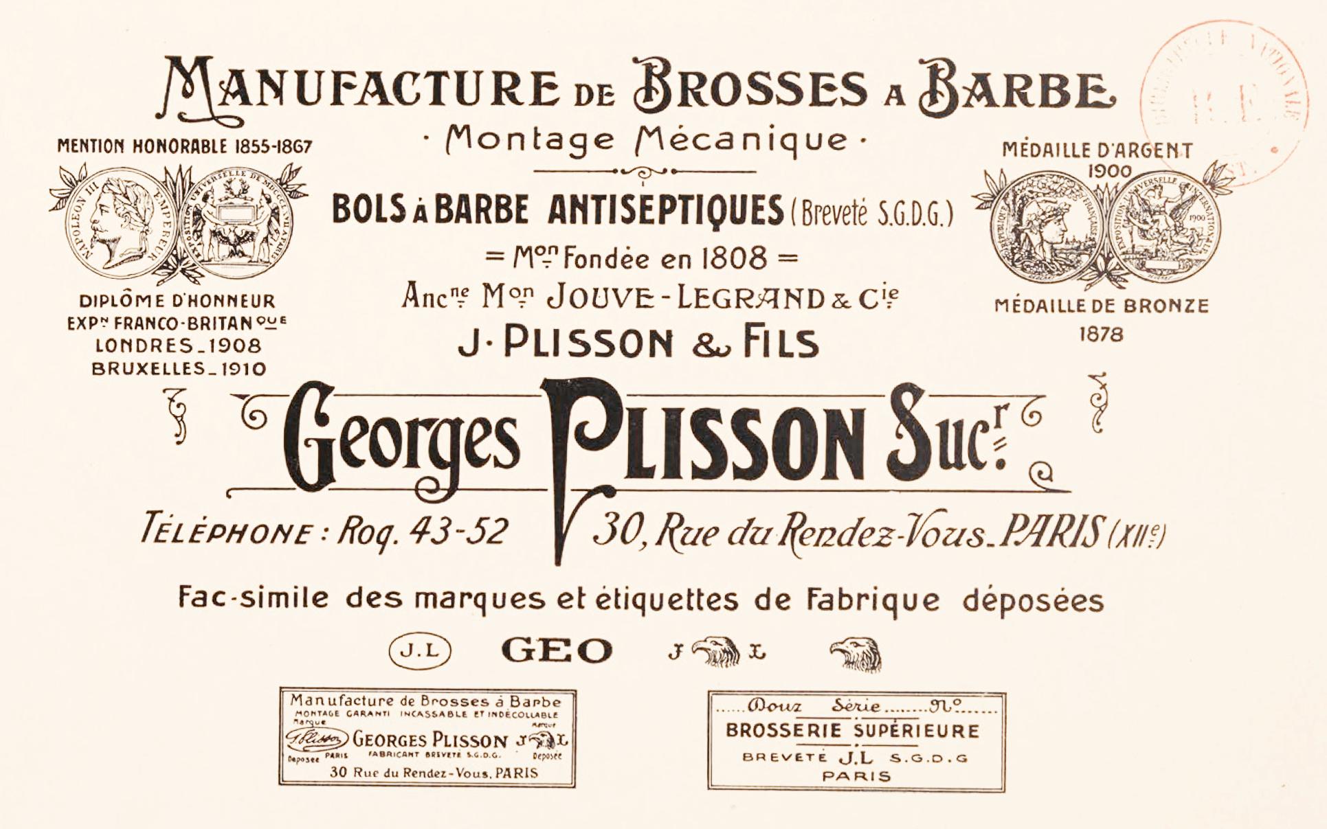 affiche Plisson